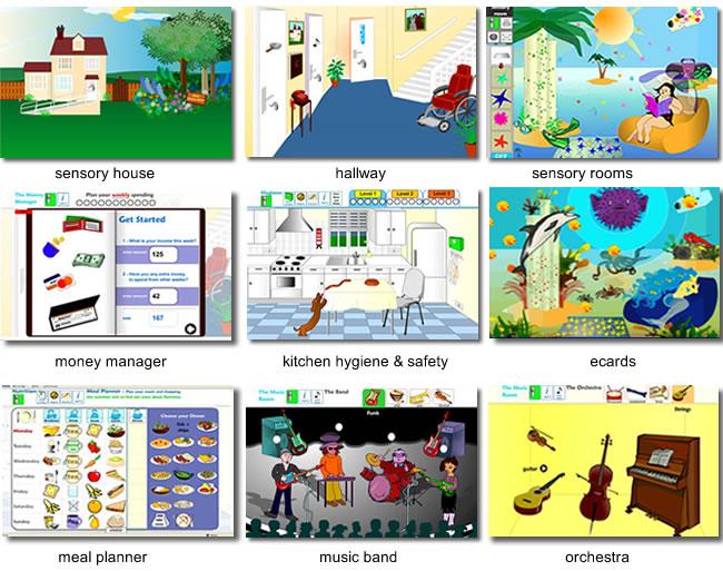 Sensory World Screen Shots