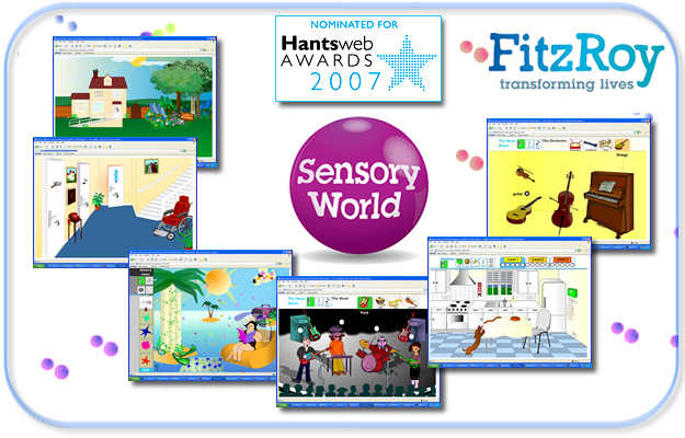 Sensory World at the Hantsweb Awards
